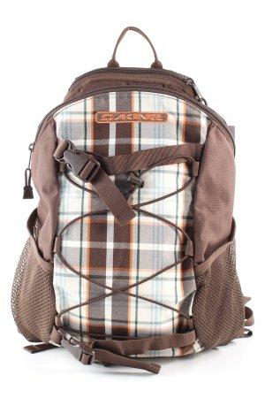 Dakine Trekking Backpack check pattern casual look