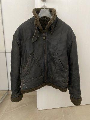 Dakota Leather Jacket dark brown leather