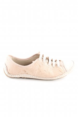 Dakota Slip-on Shoes cream allover print casual look