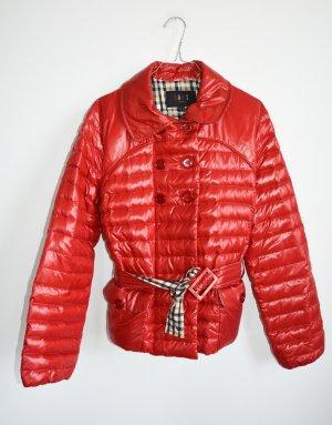 DAKS London Daunenjacke Winterjacke Daunen Jacke rot DE 38