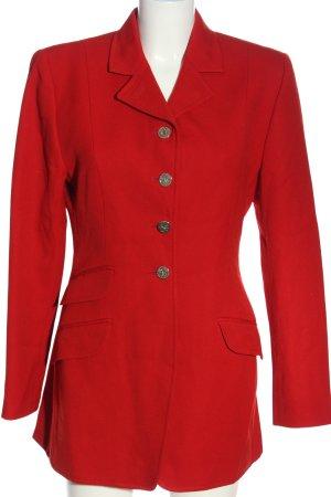 DAKS Signature Blazer in maglia rosso stile professionale