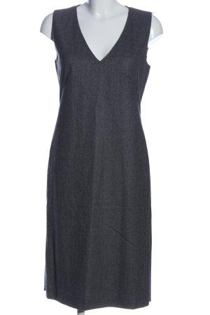 DAKS Signature Woolen Dress light grey flecked casual look