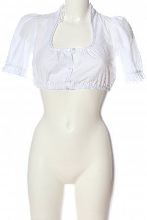 Daller Traditional Blouse white classic style