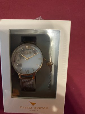 Olivia Burton Analog Watch silver-colored