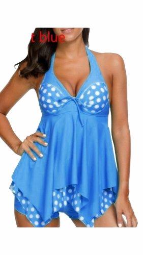 Damen 2teiler Badeanzug Bikini Tanktini 5x XL