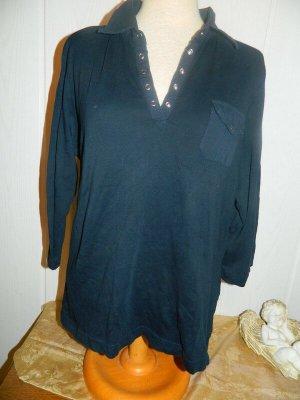 Damen 3/4 arm Poloshirt Grösse M von Gina Laura (X264)