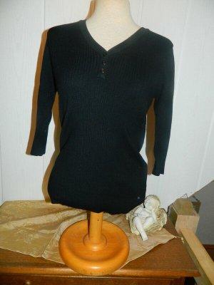 Xside Fine Knit Jumper black viscose