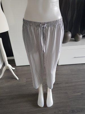 big fun Pantalón pirata blanco-negro