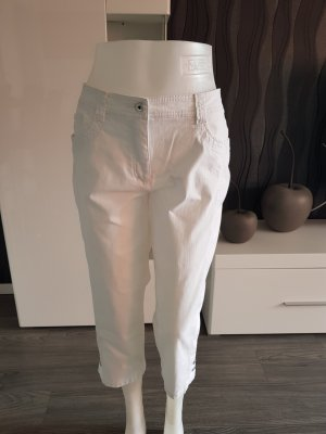 Canda 3/4-jeans wit
