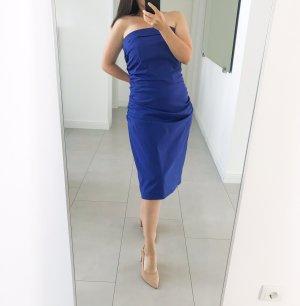 Vera Mont Bandeaujurk blauw