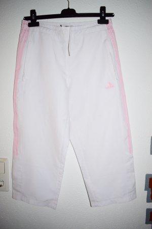 Adidas pantalonera blanco-rosa Poliéster