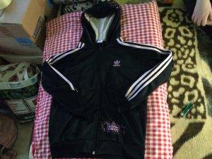 Adidas Y3 Jack met capuchon zwart-roze