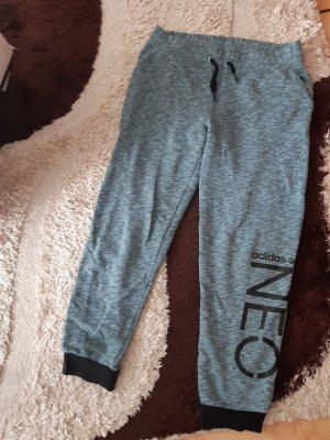 Adidas NEO Pantalone da ginnastica nero-grigio scuro