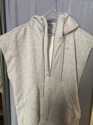 Adidas Capuchon vest lichtgrijs