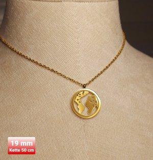SmD Breloczek złoto