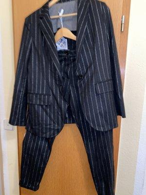 Imperial Pantalone da abito nero