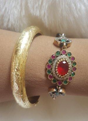 Damen Armband (Bracelet, Pulseira) 925 Sterling Silber Zirkonia