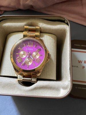 Damen Armbanduhr Fossil