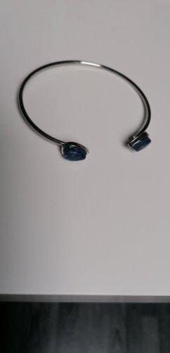 Bijou Brigitte Braccialetto argento-blu scuro