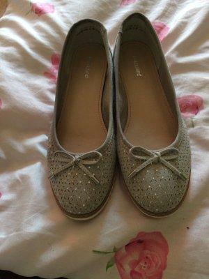 Graceland Slingback ballerina's grijs