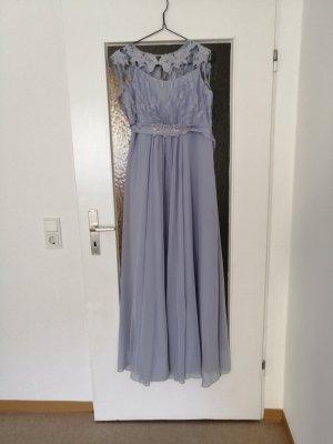 Vestido de baile azul celeste