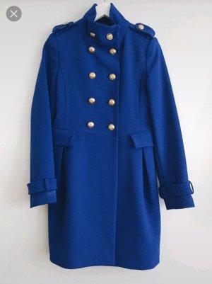Zara Winterjas blauw