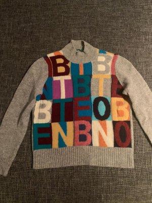 Benetton Abito maglione grigio
