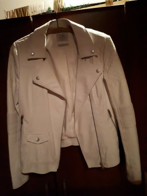 C&A Clockhouse Faux Leather Jacket natural white