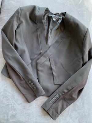 Amisu Klassischer Blazer noir