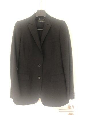 Dolce & Gabbana Blazer in lana nero