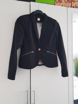 La Redoute Creation Blazer in maglia nero