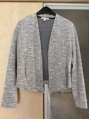 Damen Blazer Jacke kurz grau schwarz Gr S Esprit