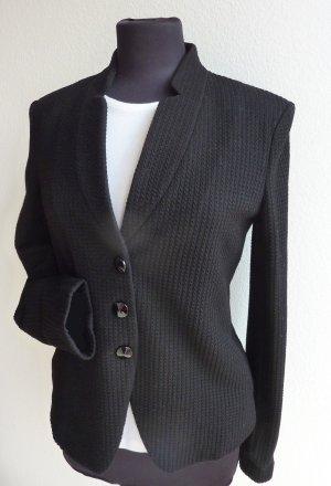 Armani Klassischer Blazer noir coton
