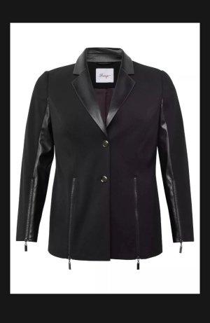 Damen Blazer schwarz, Gr. 48 neu von sheego