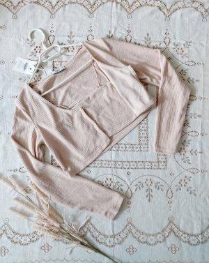 Bershka Ensemble en tricot crème