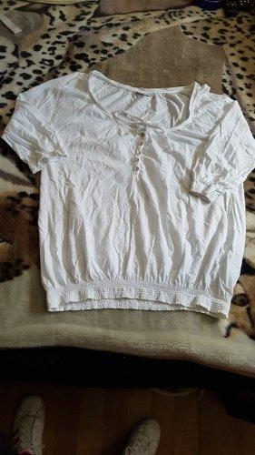 Kik Long Sleeve Blouse natural white