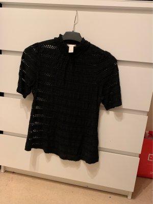 H&M Koszulka typu batik czarny