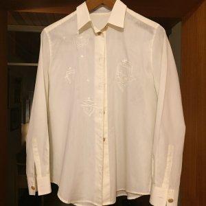 Mario Rosella Glanzende blouse room Viscose