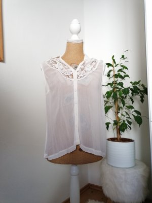 Damen bluse ärmellos von topshop