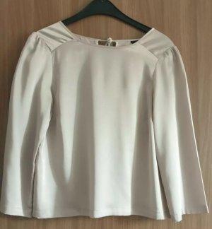 Alexander Wang for H&M Glanzende blouse beige