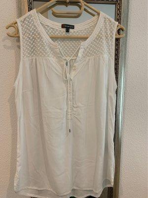 Street One Kimono Blouse white