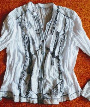 Steilmann Camicia blusa bianco Cotone