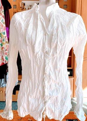 Damen Bluse Crach Hemd Gr.M in Weiß von Pleasure