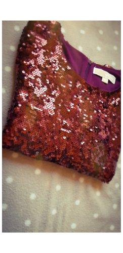 Michael Kors Vestido camisero burdeos