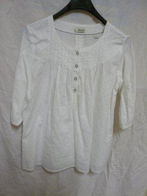 Damen Bluse Esprit Tunika in Weiß Gr. 38