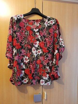 Blusa kimono multicolore Poliestere