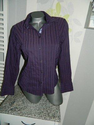 Steilmann Long Sleeve Blouse lilac-brown violet cotton