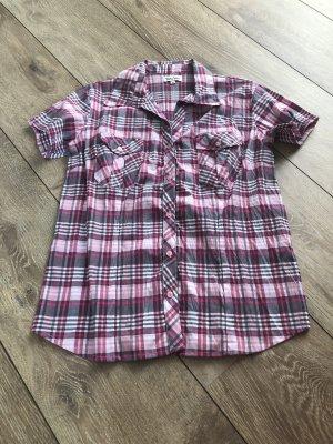 Damen Bluse Hemd Karo
