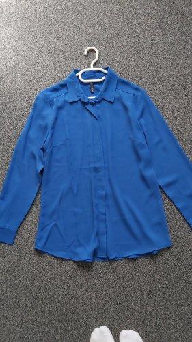 Damen-Bluse in Blau Größe M