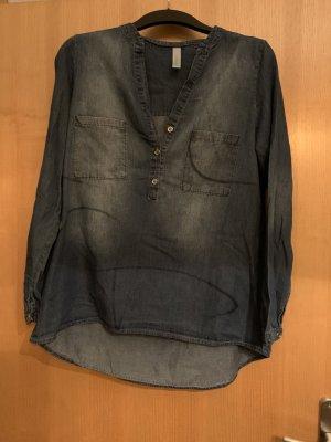 Damen Bluse Jeans M